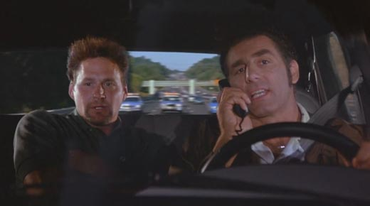 Yeah, this is Kramer. I got Genderson in the car. He wants to see his fish. I
