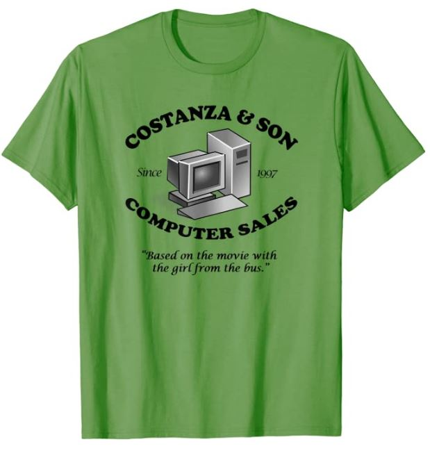 Costanza and Son Computer Sales T-Shirt