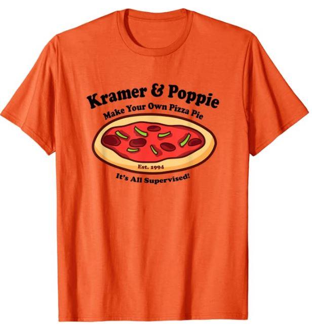 Kramer & Poppie Make Your Own Pizza Pie T-Shirt
