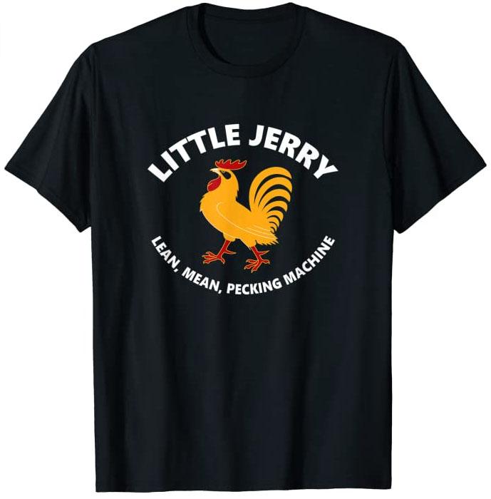 Little Jerry - Lean, Mean, Pecking Machine T-Shirt (Dark)