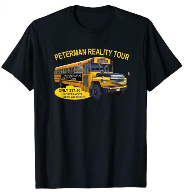 Peterman Reality Tour T-Shirt